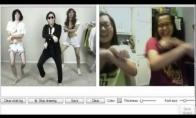 Gangnam style per webcamą