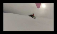 Skraidantis sniegomobilis