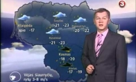 Orų prognozė - jau baisiau ir už Radži ieško žmonos...