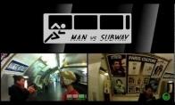 Ar gali žmogus aplenkti metro?