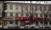 Kinijoje net ir sniegas krenta kitaip