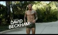 Pusnuogis Beckhamo pasibėgiojimas