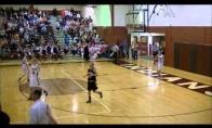 Keisčiausias krepšinio metimas