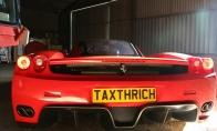 Pasidrąskymas su Ferrari Enzo WRC