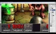 Photoshopo įgūdžiai: Doom