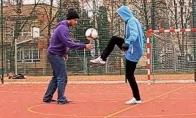 Lenkiški futbolo triukai