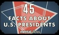 45 keisti faktai apie JAV prezidentus