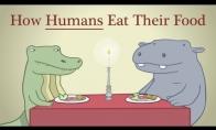 Kaip ėda žmonės