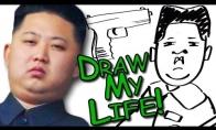 Pieštas Kim Jong-un'o gyvenimas