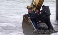 Kam Rusijoje reikalingi tiltai, kai yra ekskavatoriai?