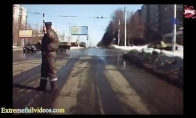 Taip gali nutikti tik Rusijos keliuose...