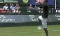 Neįtikėtinas teniso talentas