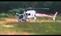 Sugedęs sraigtasparnis