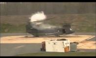 Crash testas sraigtasparnio