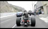 Labai galingas motociklas