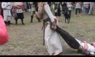 Kaip senovės lietuvių vyrai namo grįždavo