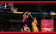 K.Lavrinovičiaus dėjimas NBA 2K14 pristatymo klipe