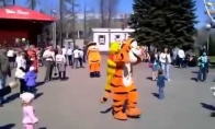 Išsitaškęs tigriukas