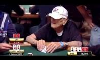 96 metų pokeristas patvarko jauną žaidėją