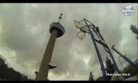 Metimas iš 98 metrų