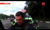 Policininko pavėžinimas ant kapoto