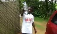 Žmogus - hidrantas