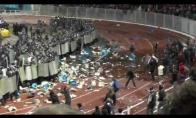 Rusiškų futbolo sirgalių dramos