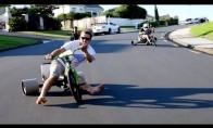 Driftas su dviratukais