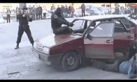 Rusijos policininkas - nindzė