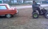 Zapukas vs traktoriukas