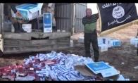 Sirija sukilėliai gauti nemokamą cigaretes