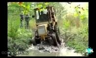Nevykusios traktoristų situacijos