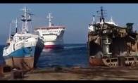 Kaip parkuojami laivai?