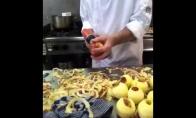 Kaip obuolius lupa tinginiai