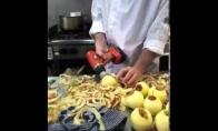 Kaip greitai nuskusti obuolį