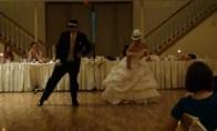 Nestandartinis dukros ir tėvo šokis