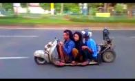 Žemiausias pasaulyje motoroleris