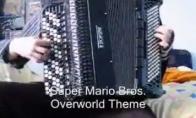 Super mario muzika akordionu