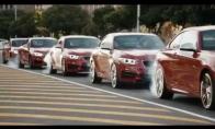 BMW flashmobas miesto vidury