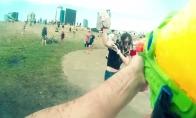 Vandens mūšis Vilniaus centre