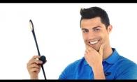 Ronaldo reklamuoja keistą japonų išradimą