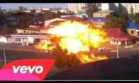 Degalinės sprogimas Rusijoje