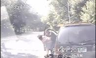 Policininkas išgelbsti paspringusios moters gyvybę