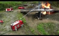 Žaislinio gaisro likvidavimo istorija