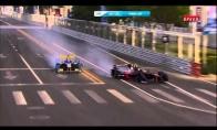 Įspūdinga Formula E avarija