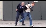 Pavogė policininko kepurę
