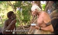 Aborigenų reakcija į nubalintus plaukus