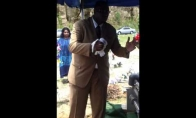 Nepavykusi laidojimo ceremonijos dalis
