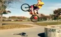 Epinis nusileidimas BMX dviračių