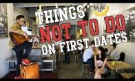 Ko negalima daryti per pirmą pasimatymą